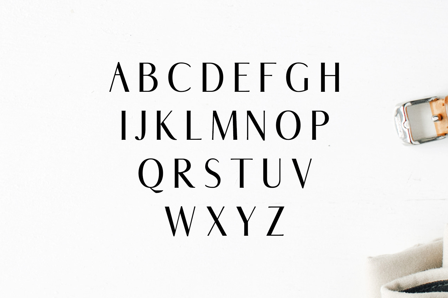 Abiah Sans Serif Font Family Pack example image 2