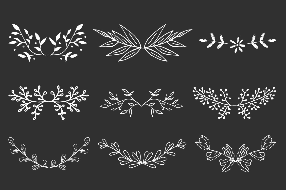 Wreaths and branches vol.2 example image 7