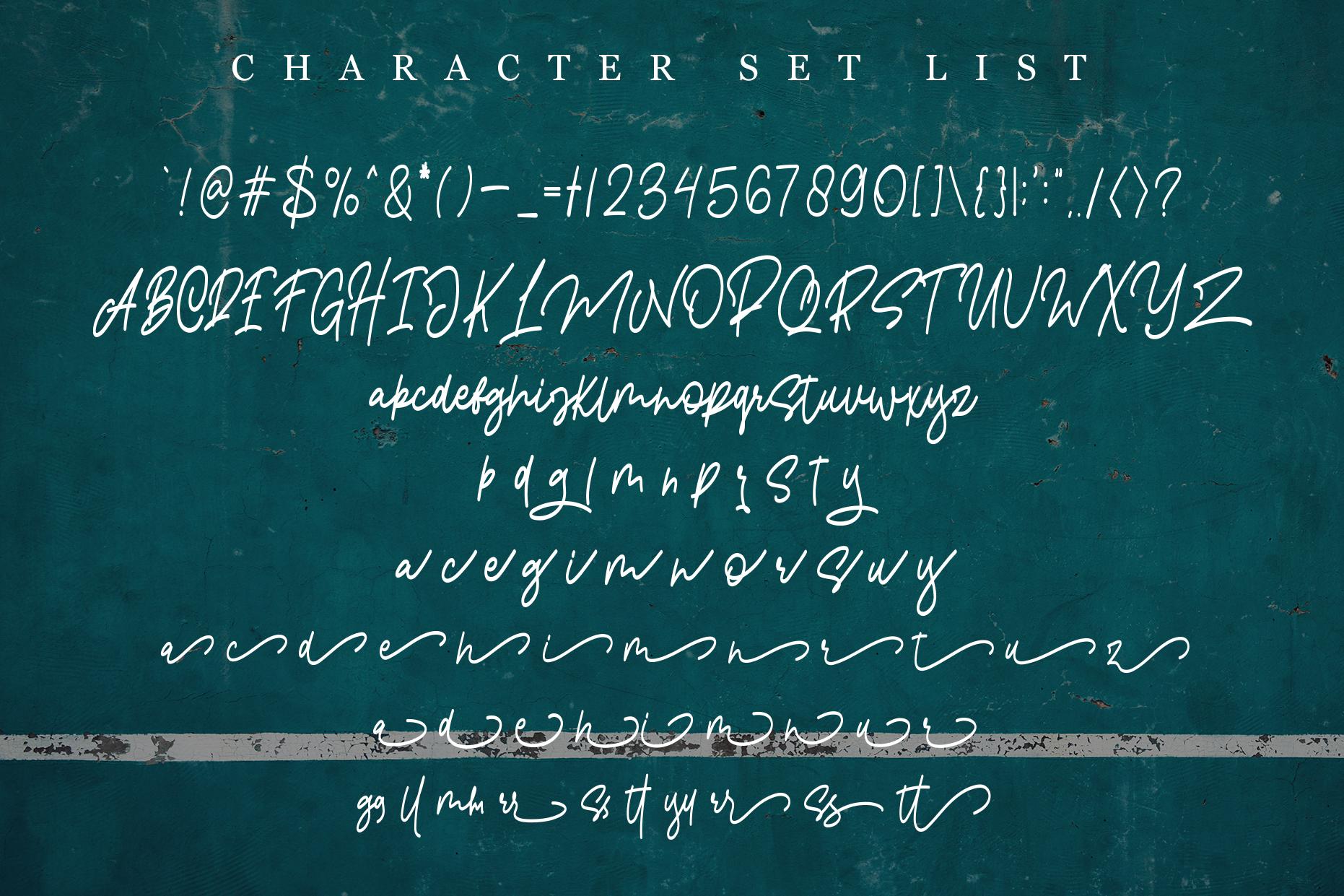 Pangoline | Handwriting Script example image 4