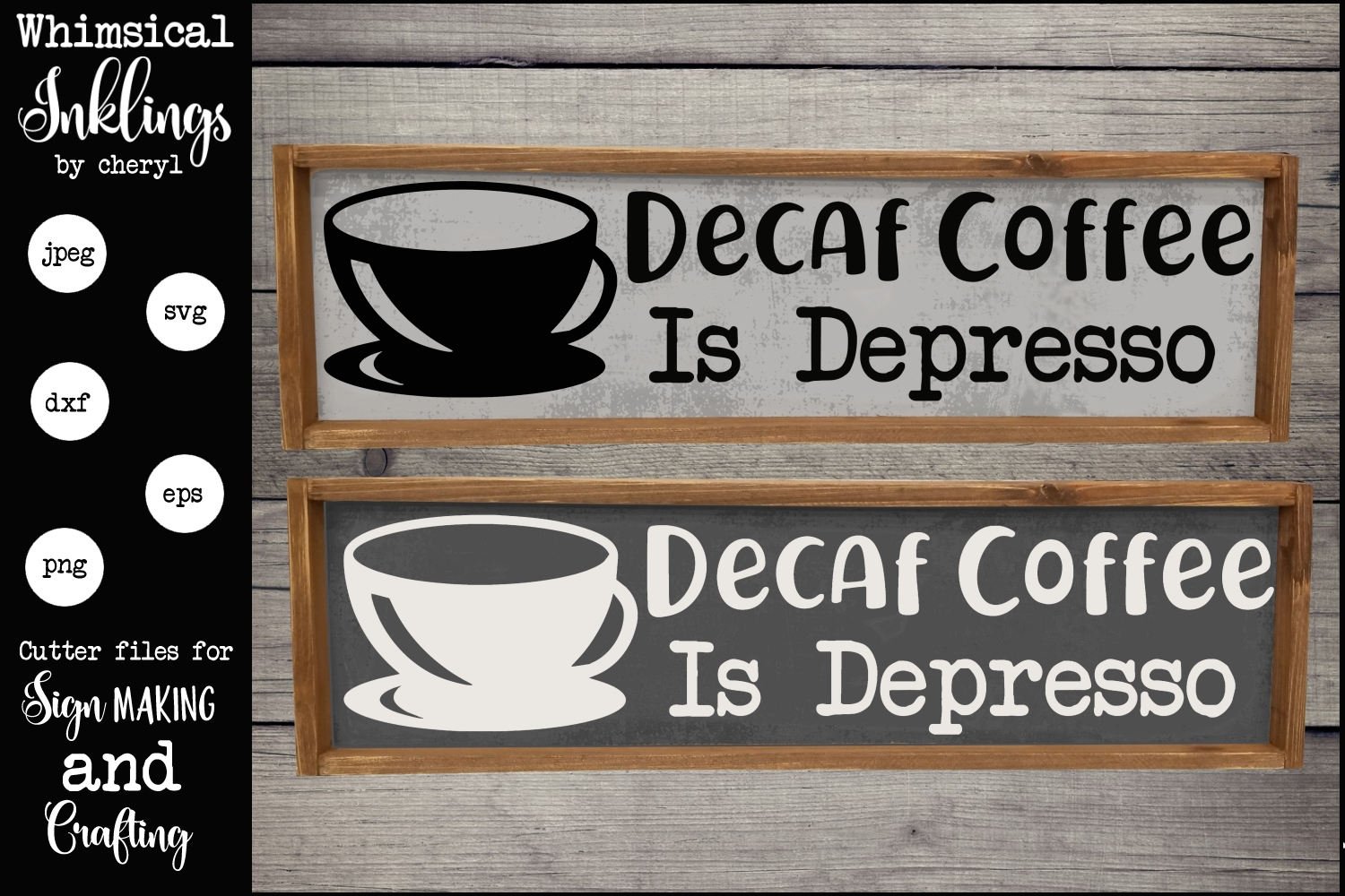 Depresso SVG example image 1