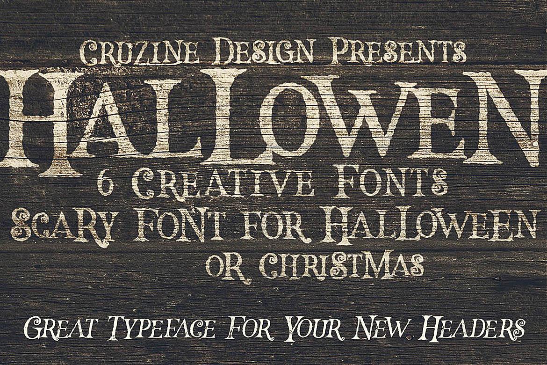 Hallowen Typeface example image 5