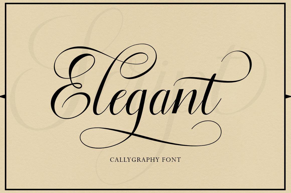Floural Script example image 2