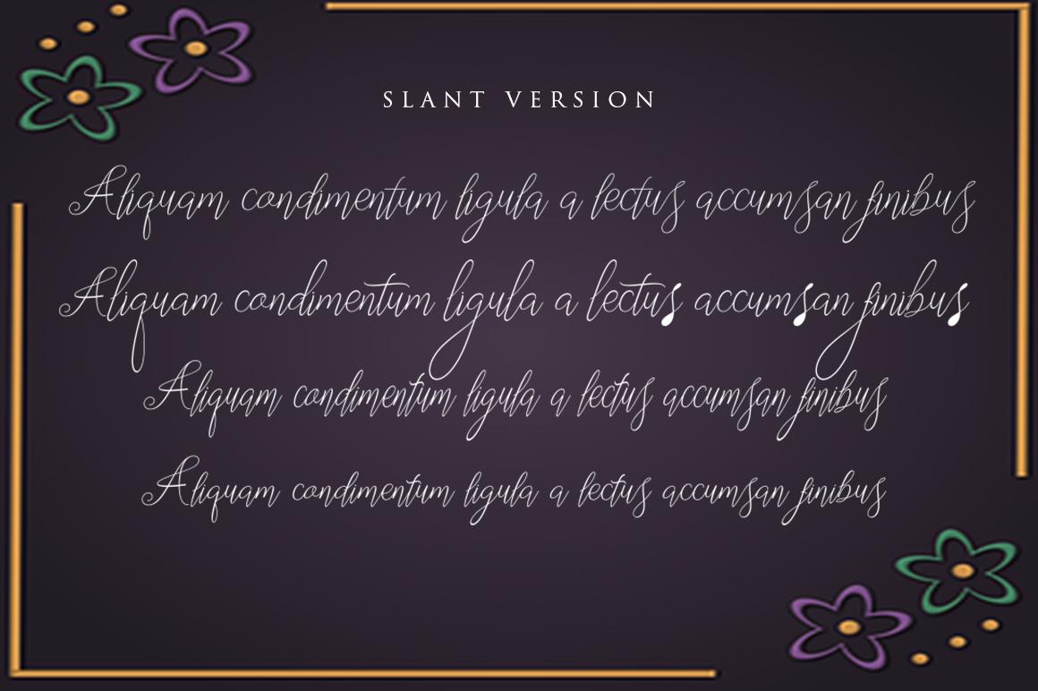 Segitha Script example image 8