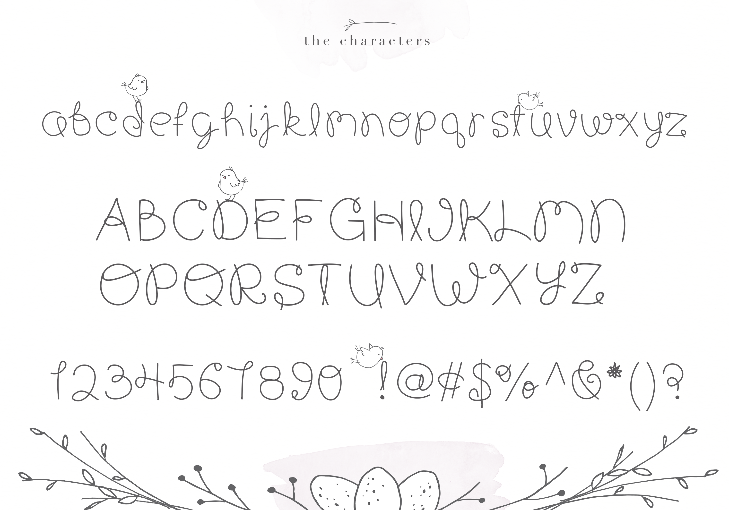 Whimsy - A Whimsical Handwritten Font example image 5