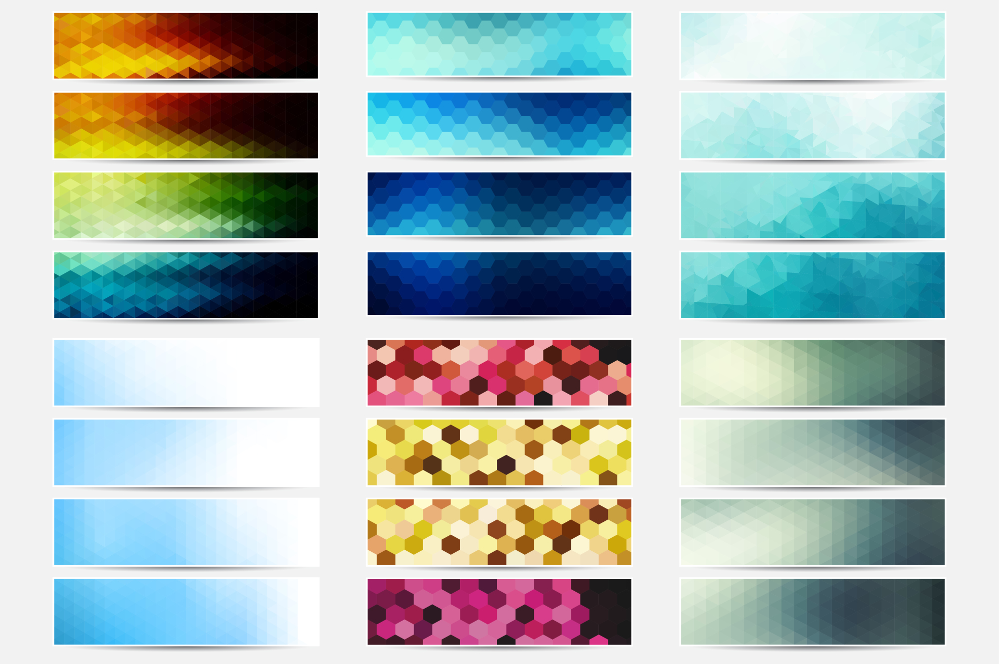 Colorful Banners Collection. example image 2