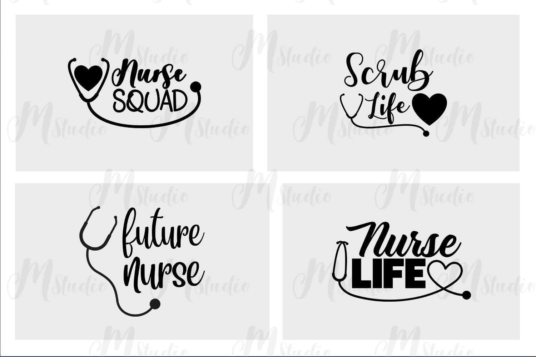 Nurse quotes svg bundle example image 5