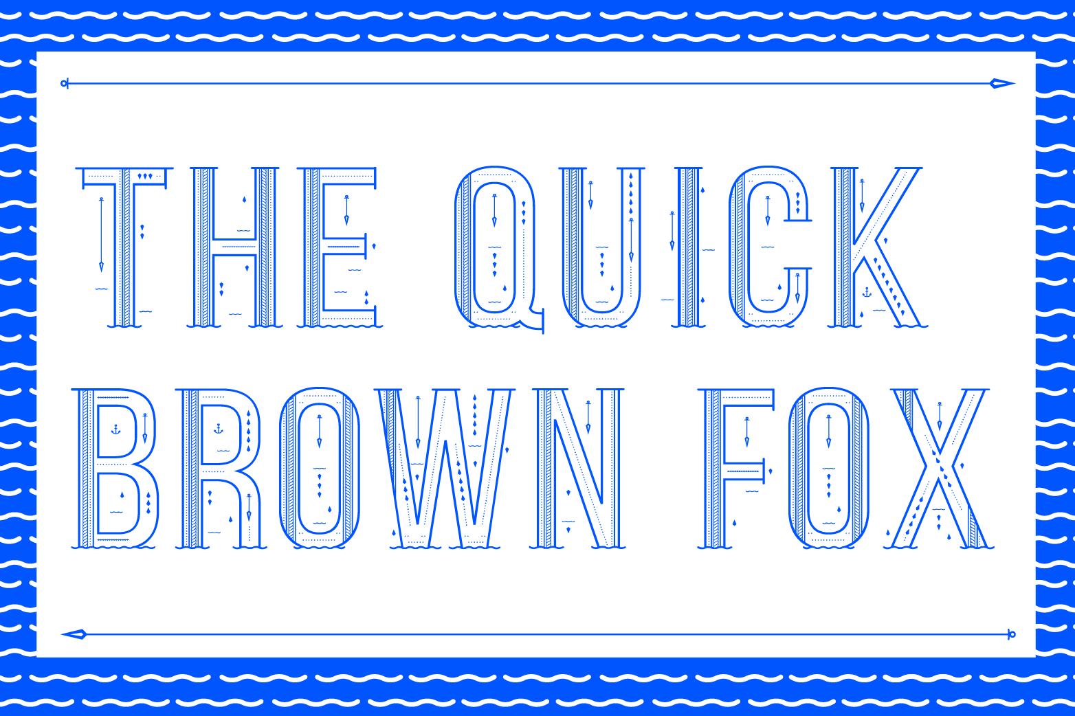Sea Font example image 9