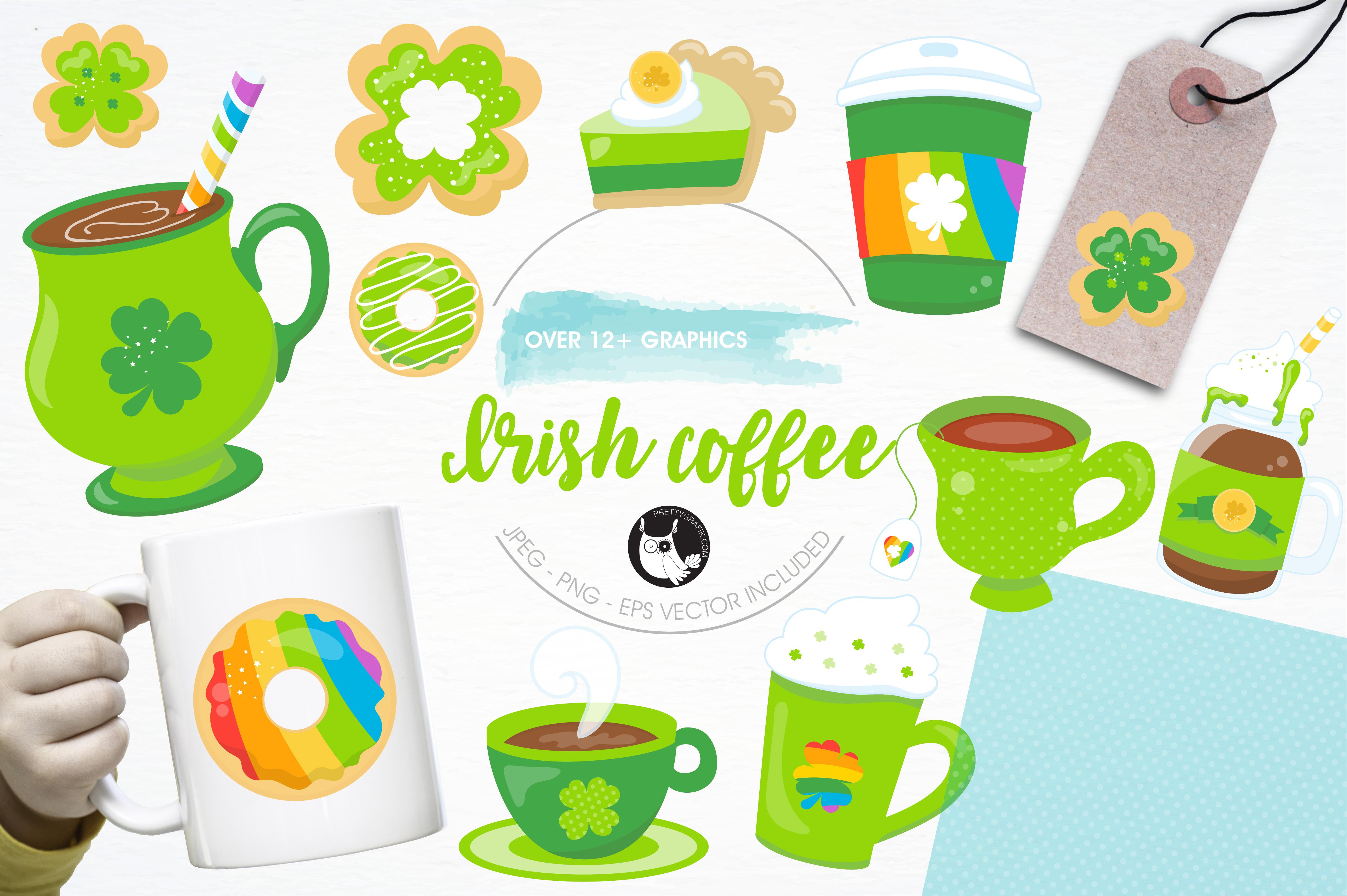 Irish coffee graphics and illustrations example image 1