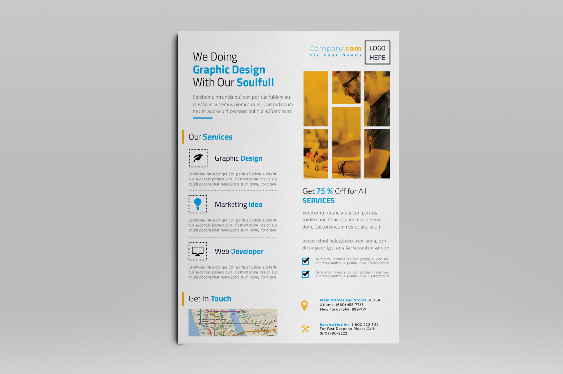 Corporate Flyer example image 7