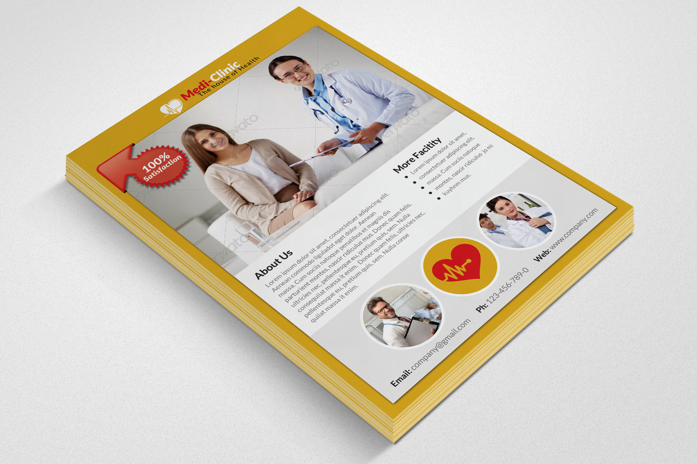 Medical Doctor Flyer Template example image 2