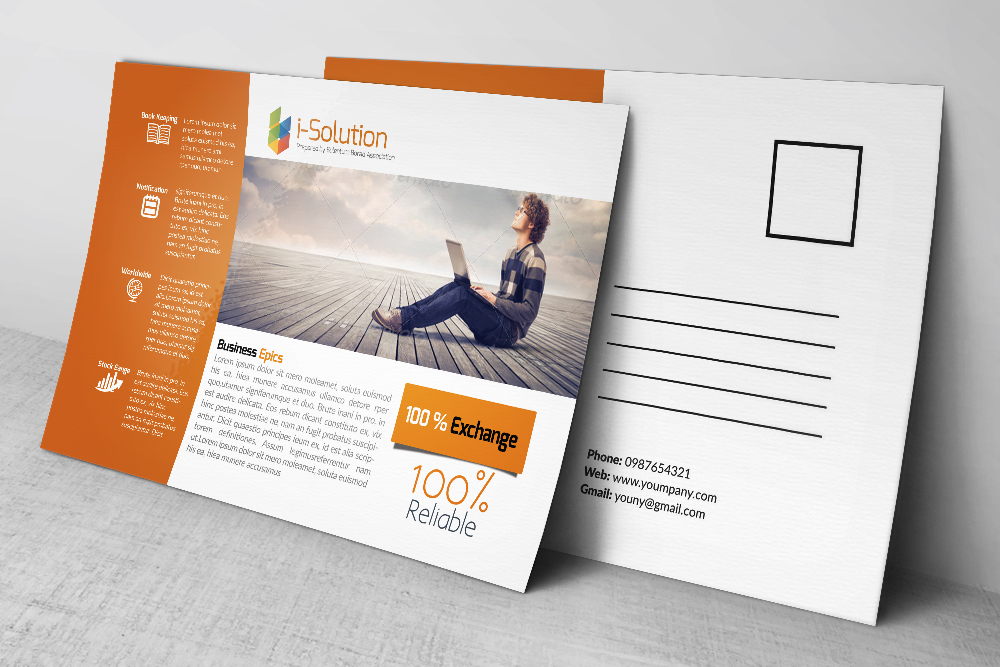 Business Solution PostCards example image 2