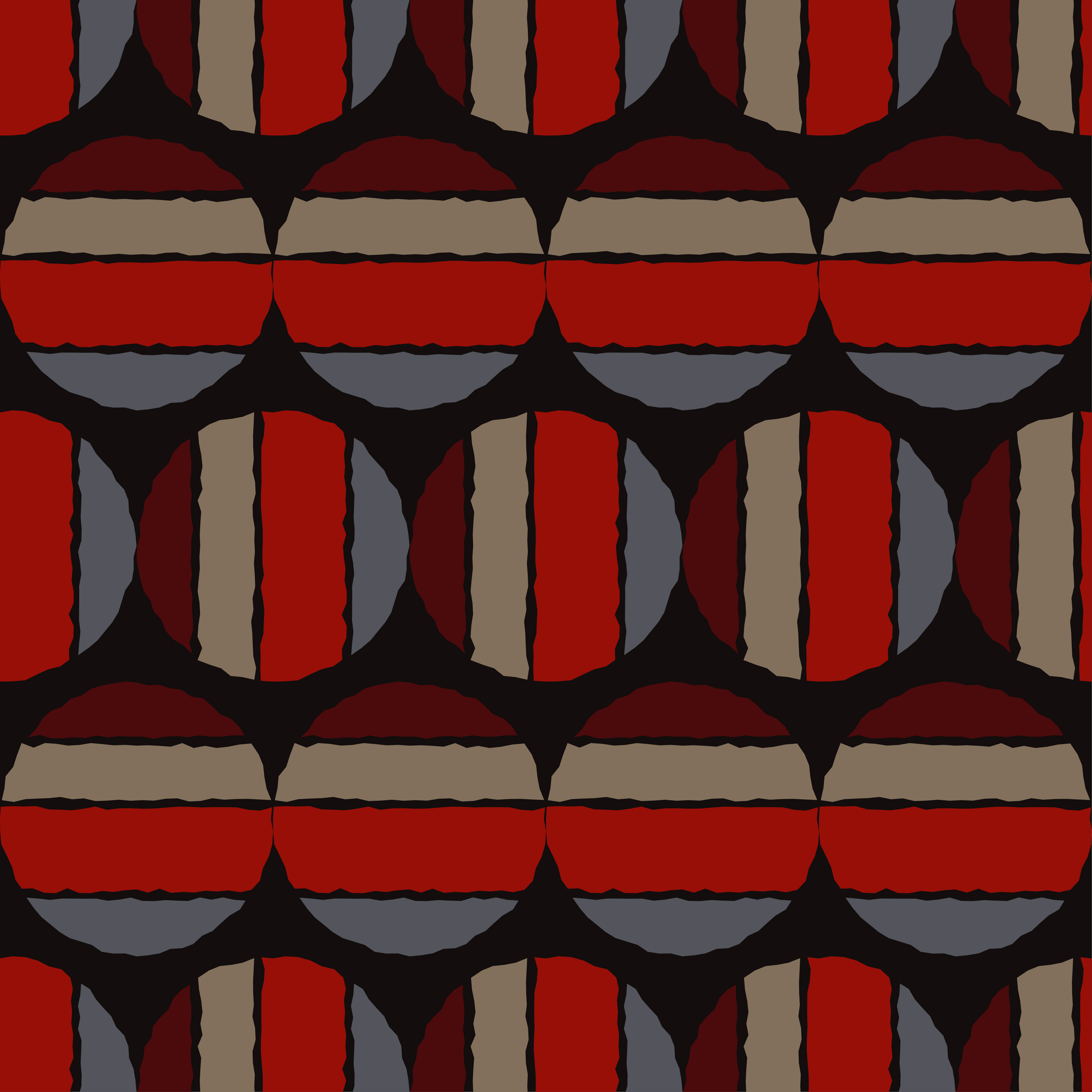 Polka dot seamless pattern. Sketch texture.  example image 3