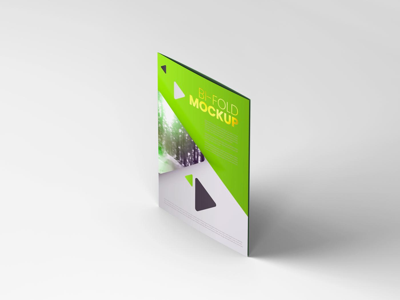 A4 Bifold Mockups V3 example image 8