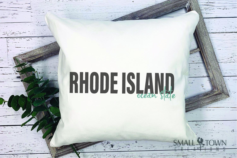 Rhode Island, Ocean State - slogan, PRINT, CUT & DESIGN example image 5