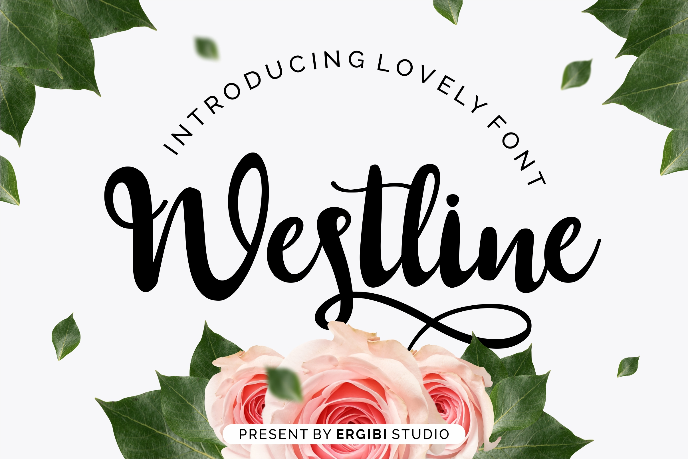 Westline - Lovely Font example image 1