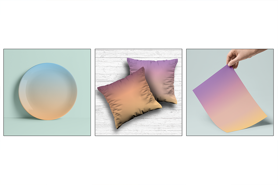 Textured Gradient Skies example image 3