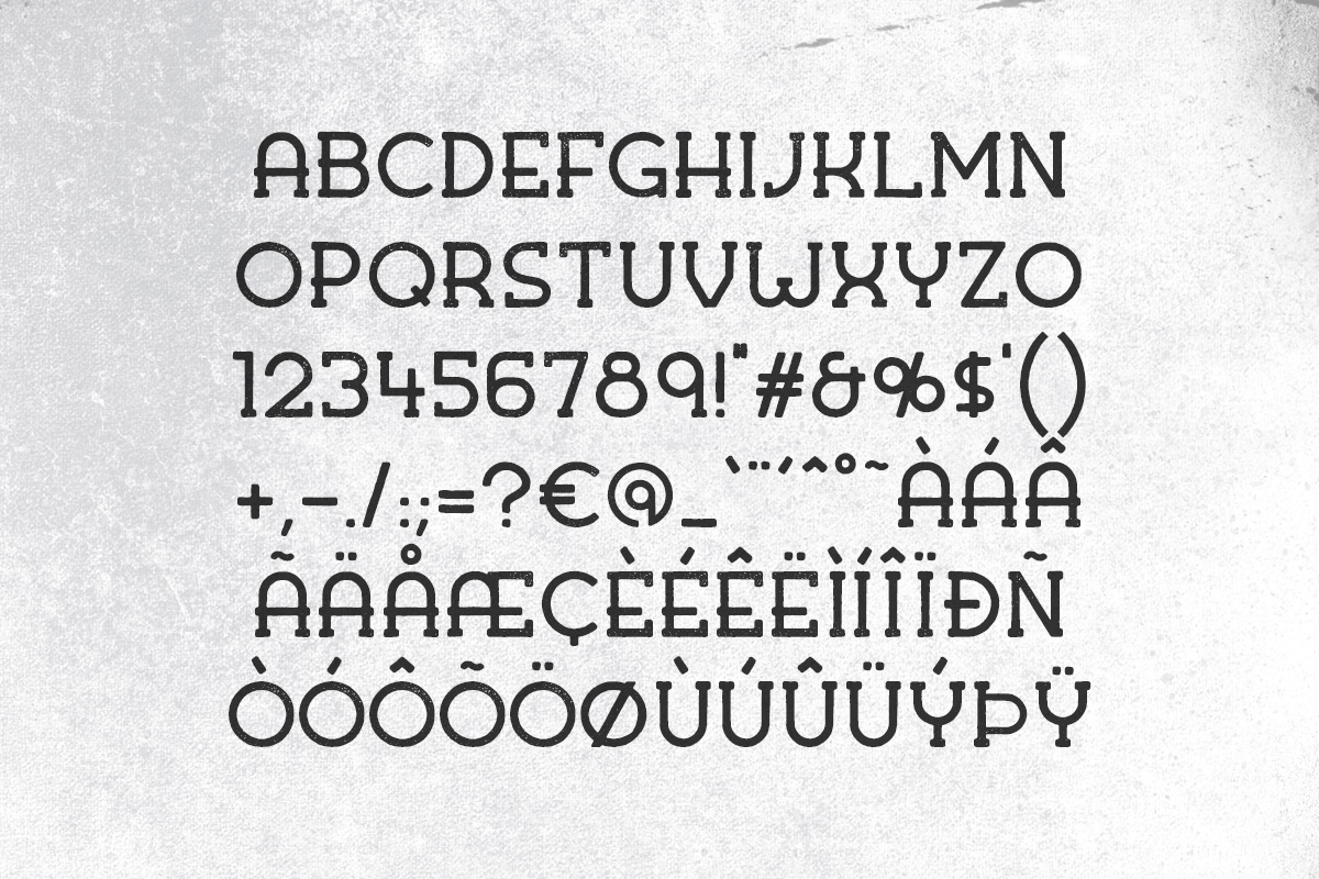 Kohm - Vintage Font example image 3