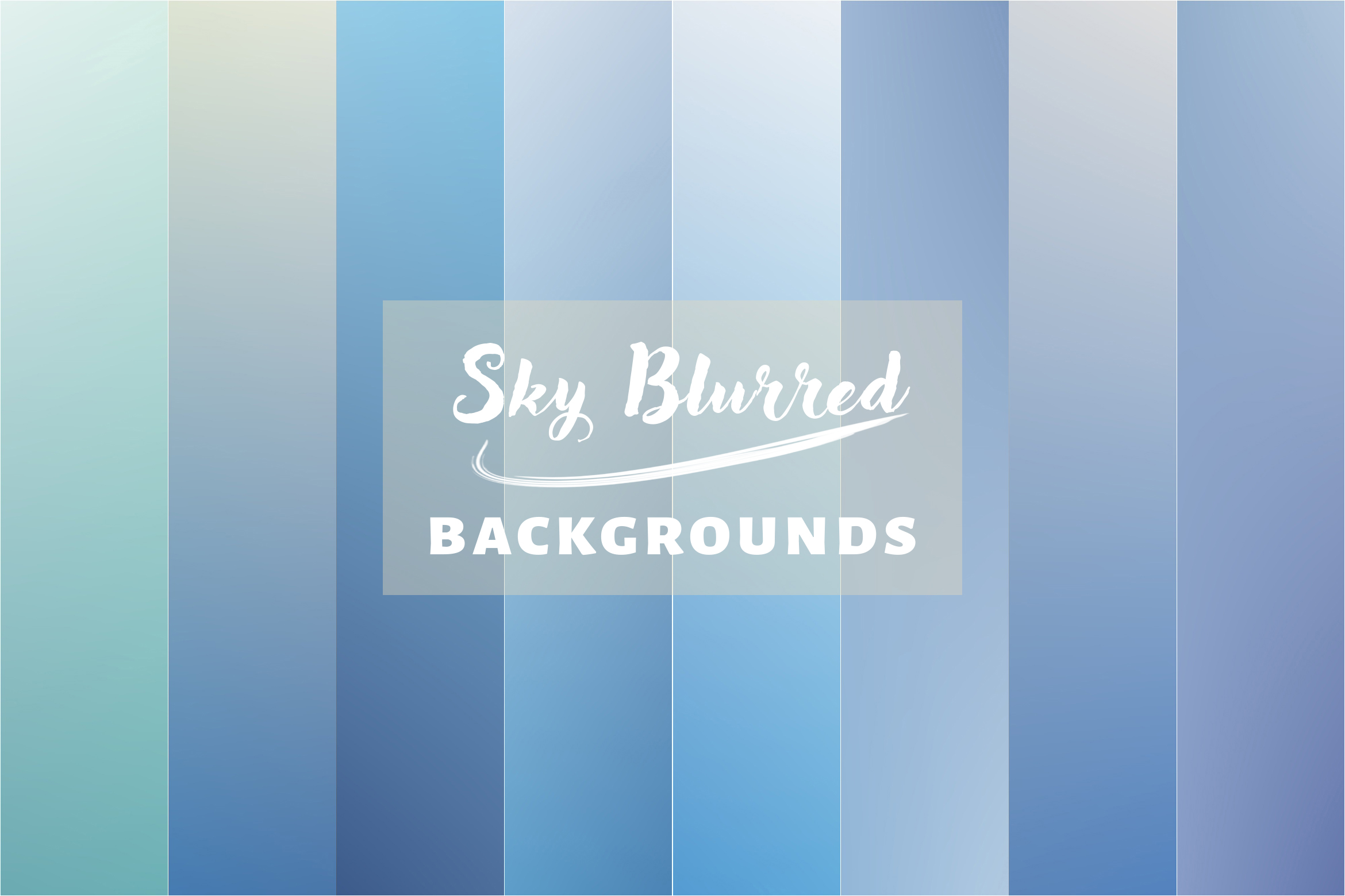 20 Sky Blurred Backgrounds JPG in High Resolution example image 3