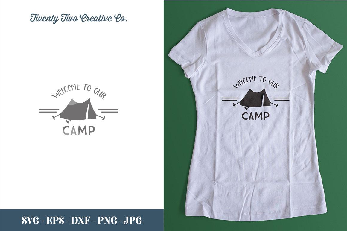 Camping SVG Bundle   SVG, EPS, PNG, JPG example image 29