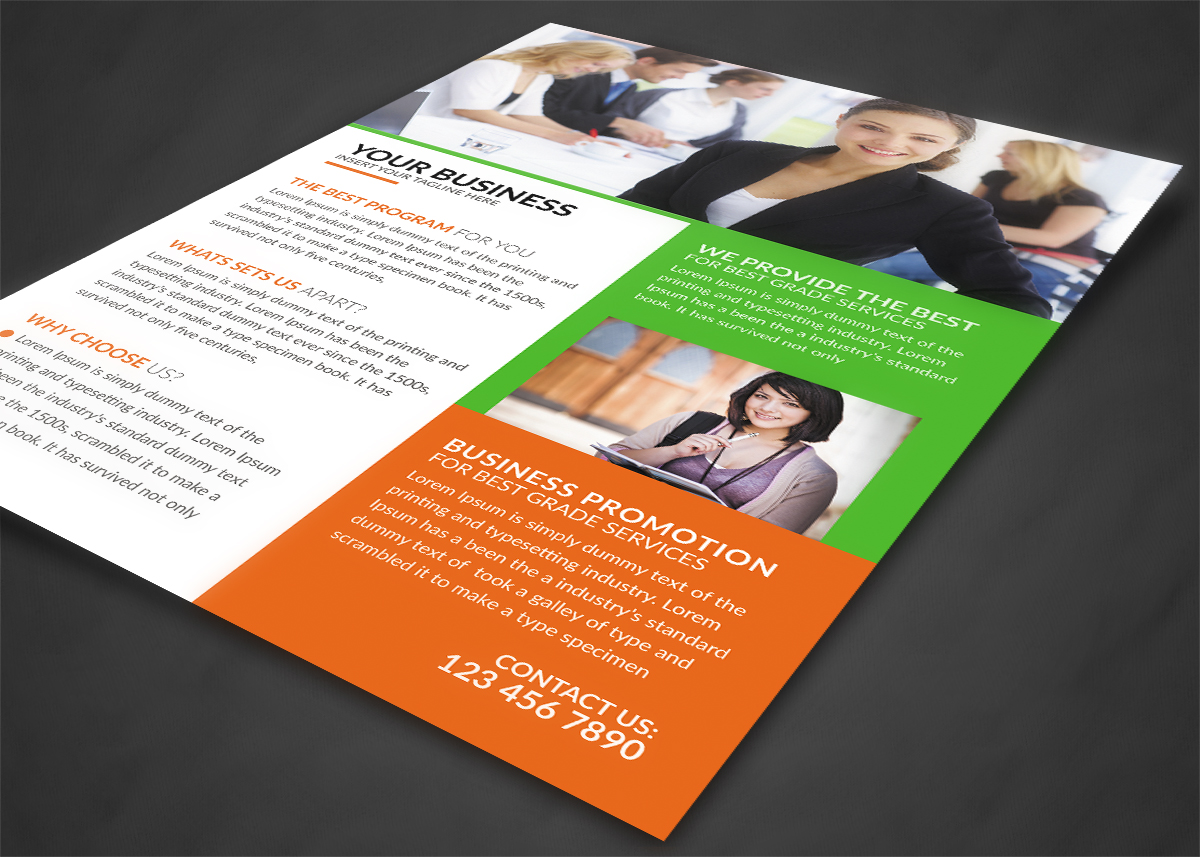 Business Company Flyer example image 3