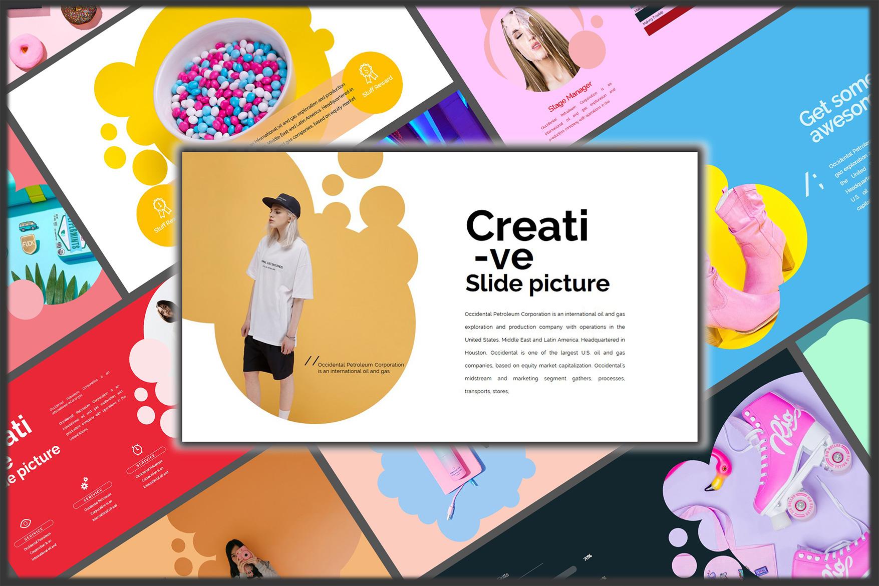 Velvety Fashion Google Slides Presentation example image 1