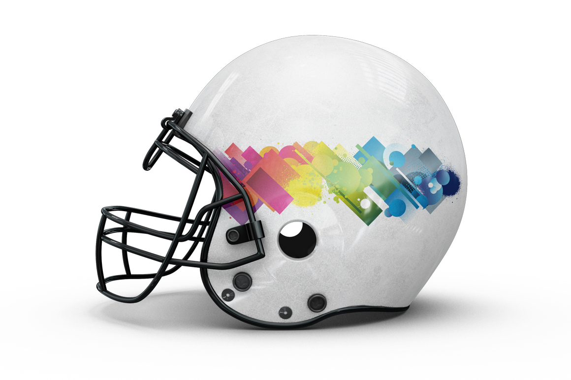 Football Helmet Mockup example image 7