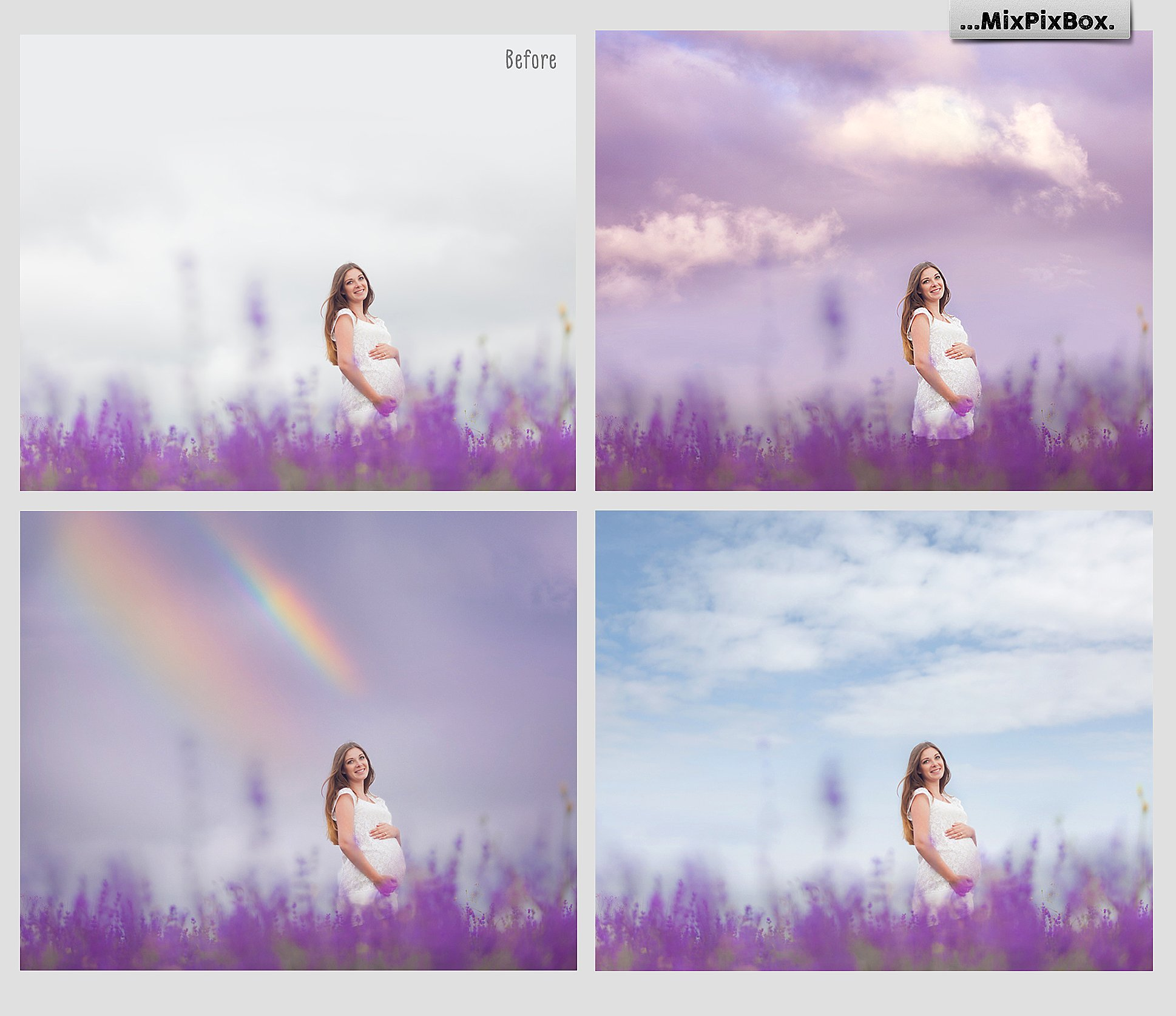 60 Dreamy Sky Photo Overlays example image 3