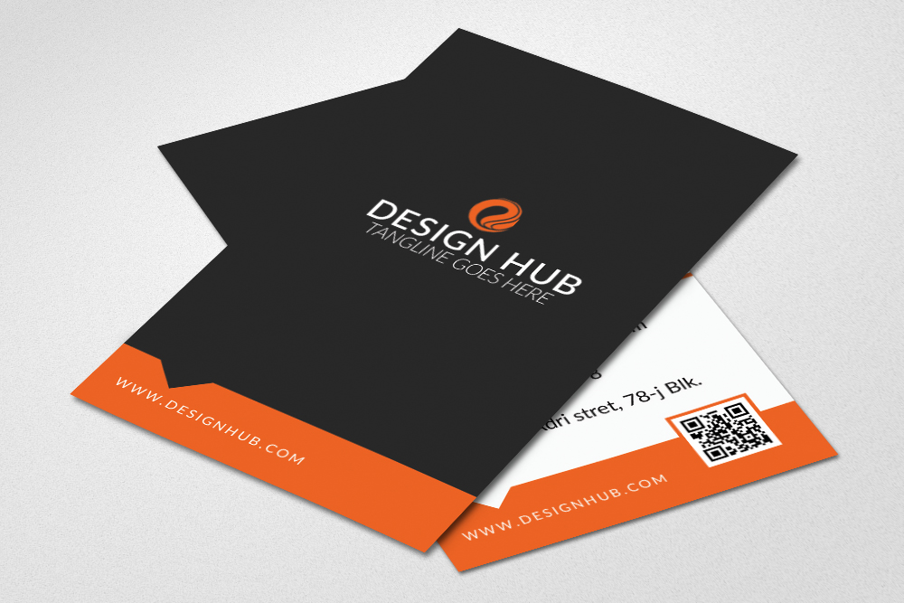Clean Business Card Design example image 2