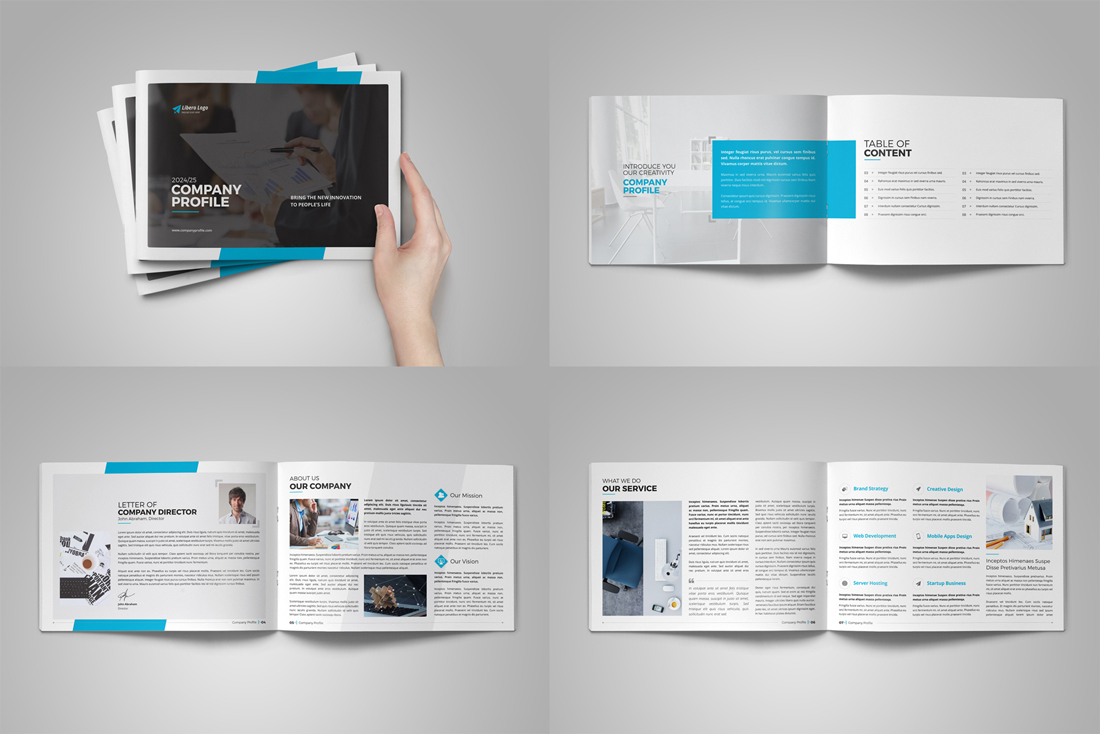 Company Profile Bundle example image 4
