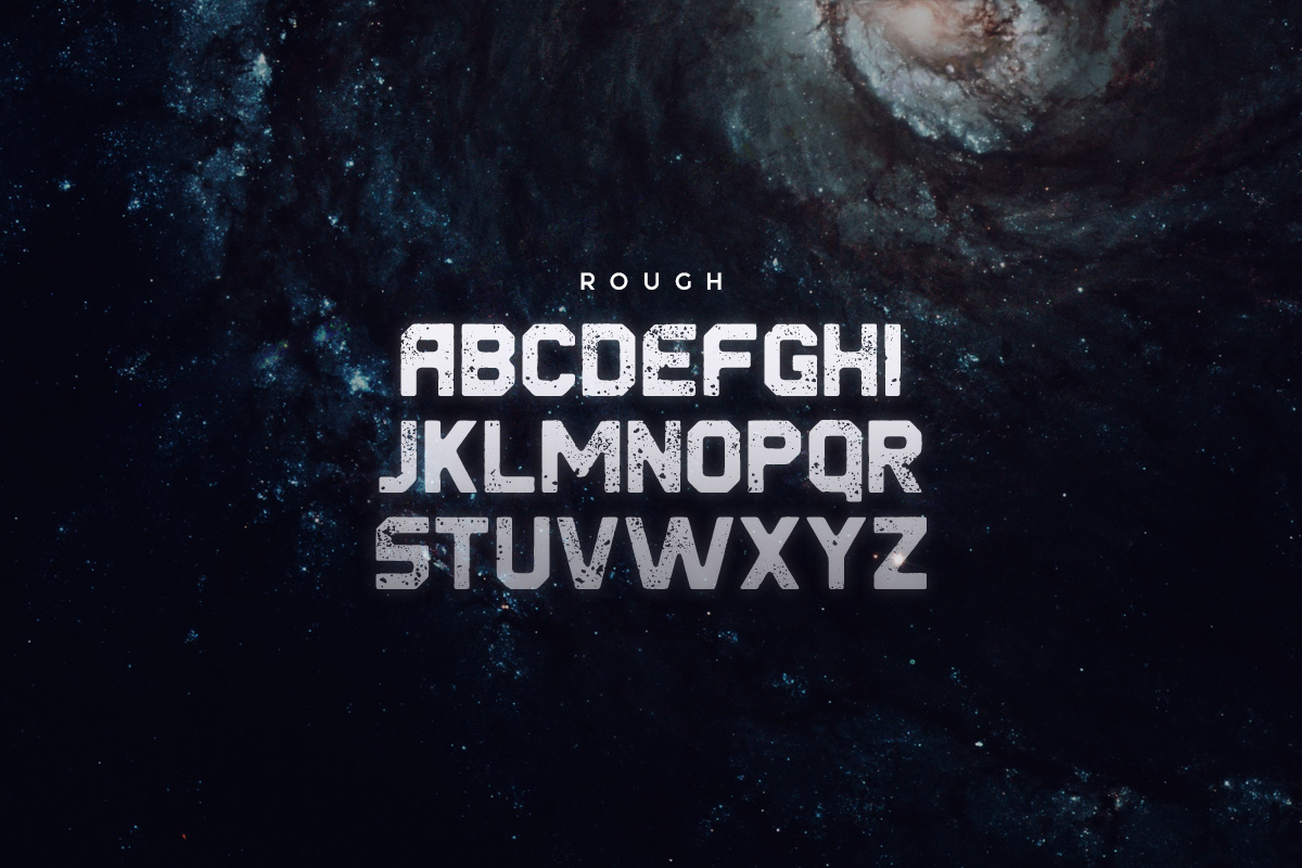 Derelict Typeface example image 4