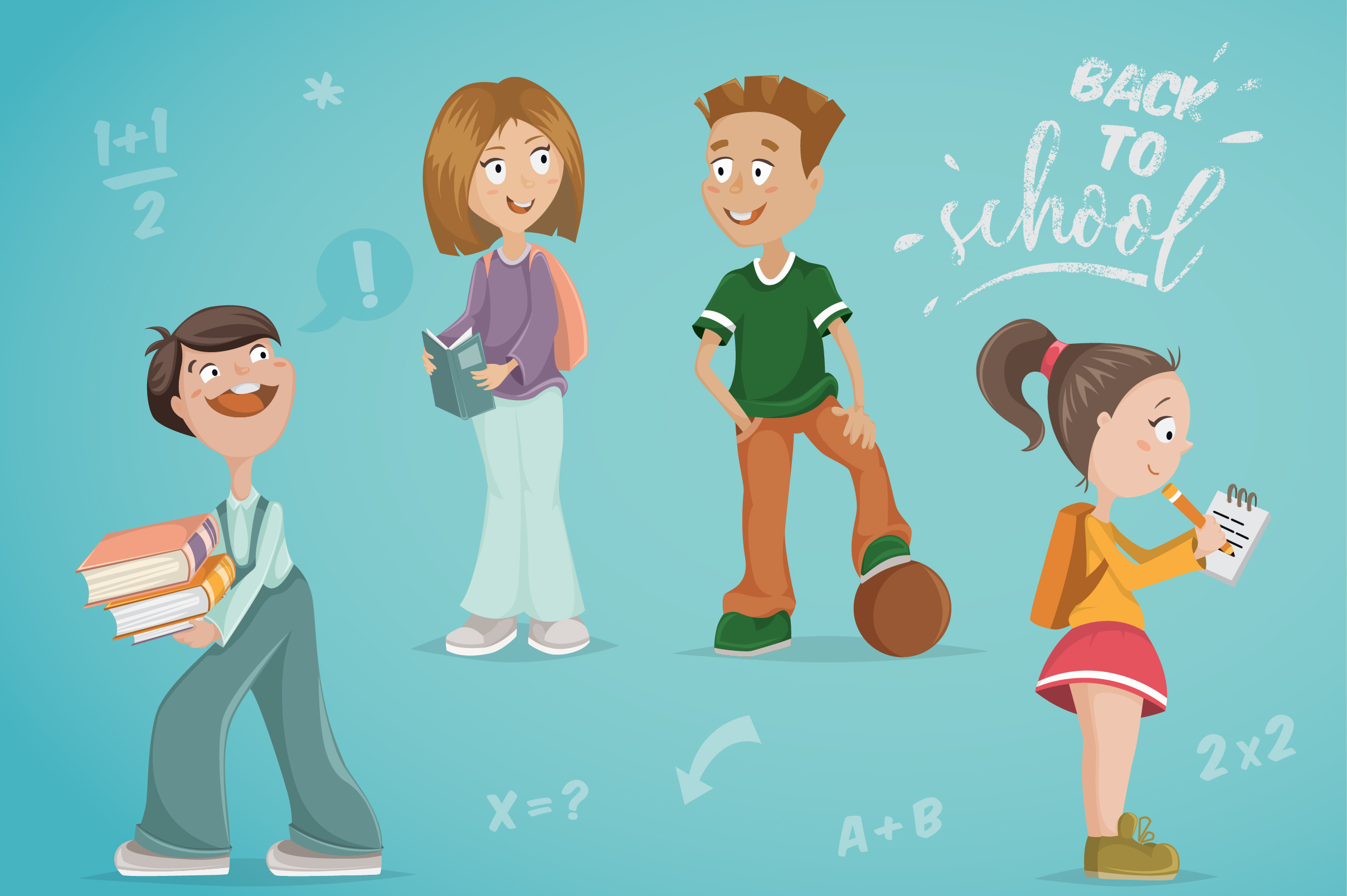 Back to school collection example image 2