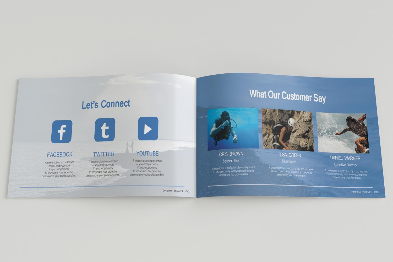 Travel Agency Printable Catalogue - A5-26 PSD Templates example image 13