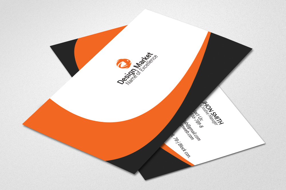 Multi Use Business Cards Template example image 2