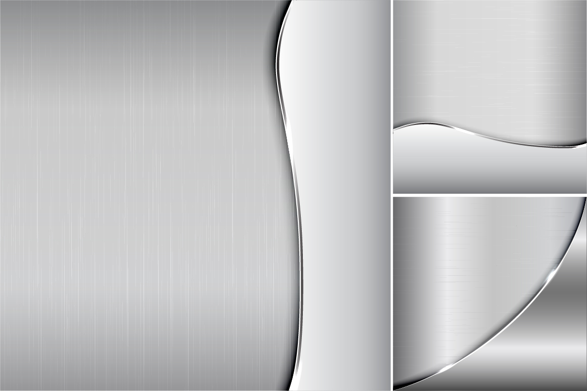 Collection of metallic backgrounds. example image 3