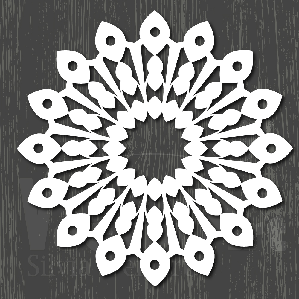 Mandalas SVG - Cut Files for Beginners example image 2