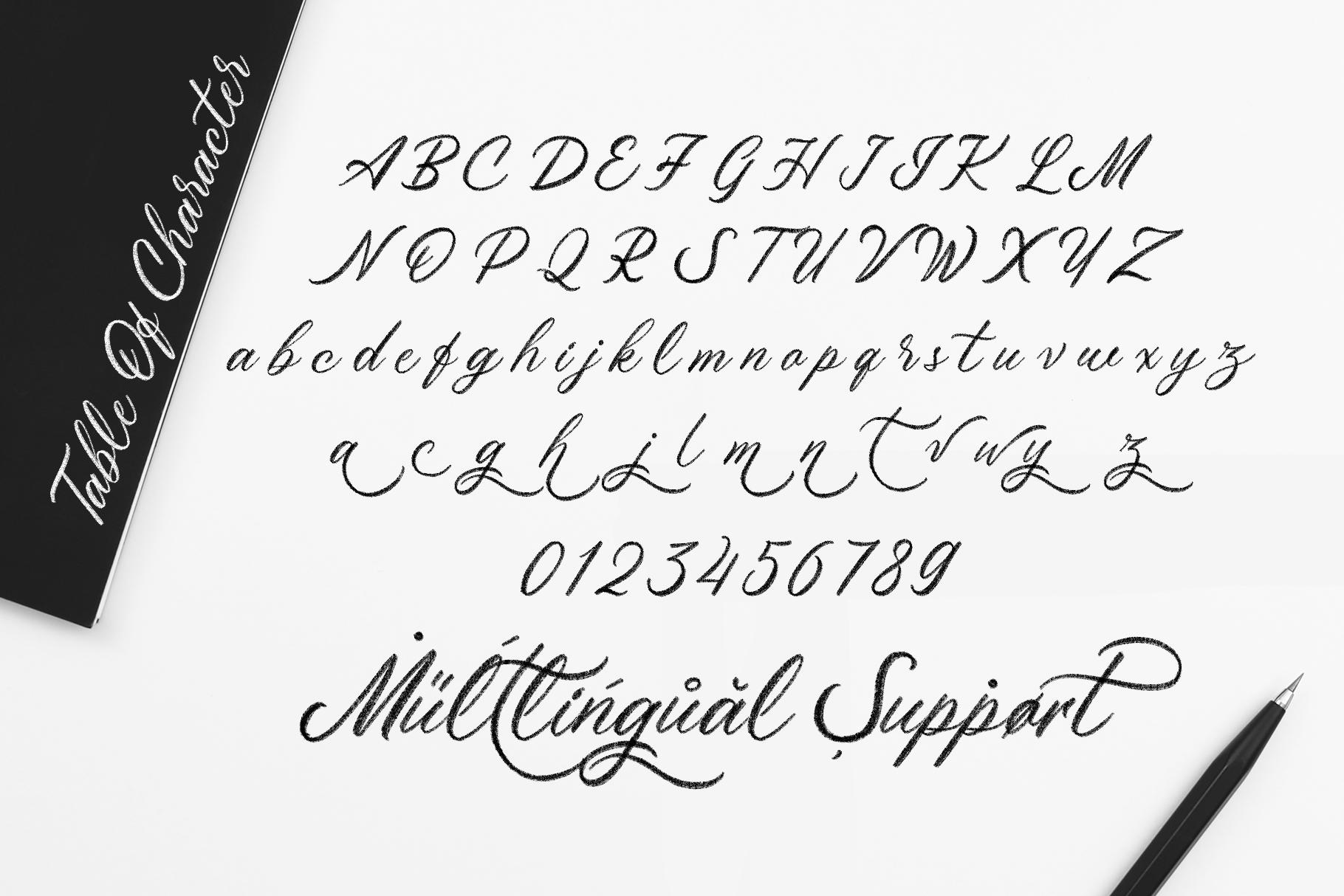 Maryatha SVG Font example image 7