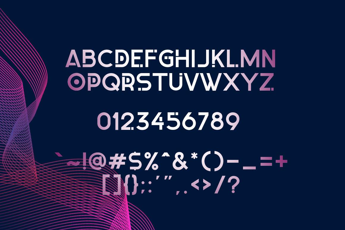 Zexo Sans Family example image 5