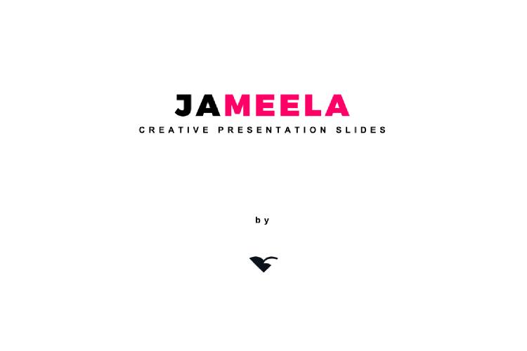Jameela Beautiful Creative Presentation Slides Template example image 10