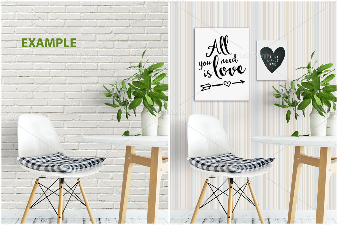 Wall Mockup - Bundle Vol. 1 example image 19
