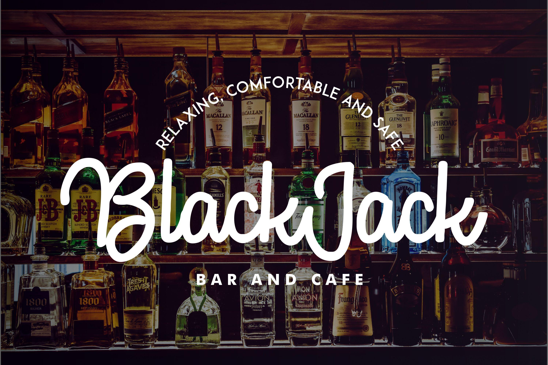 TheJack   Elegant Retro Script example image 4