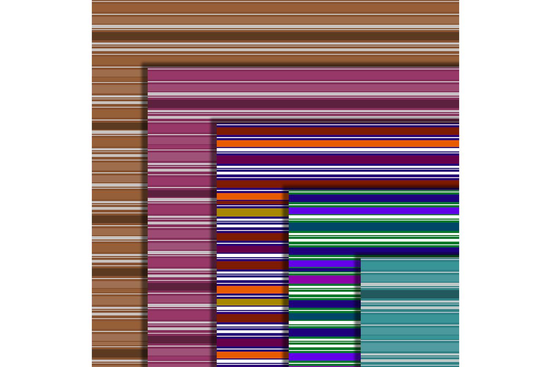 Striped Digital Paper Pack, Stripes Background,Color,sale example image 2