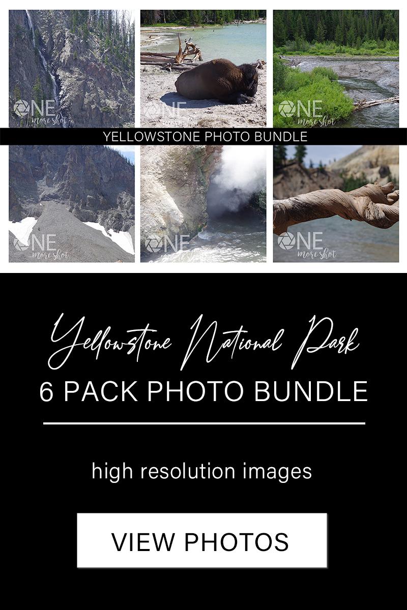 Yellowstone National Park Photo Bundle - Western USA Photo example image 8