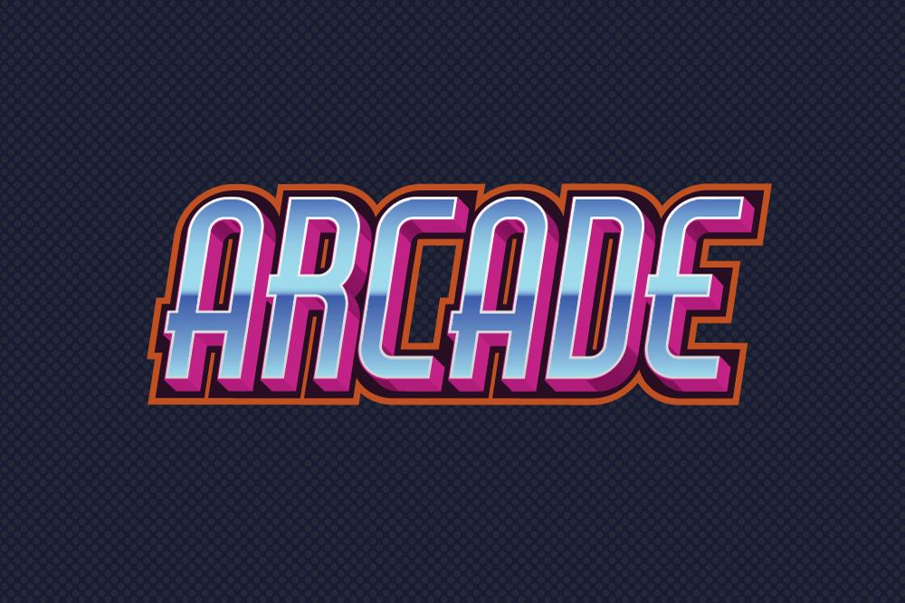 10 Eighties Decade Graphic Style for Adobe Illustrator example image 4