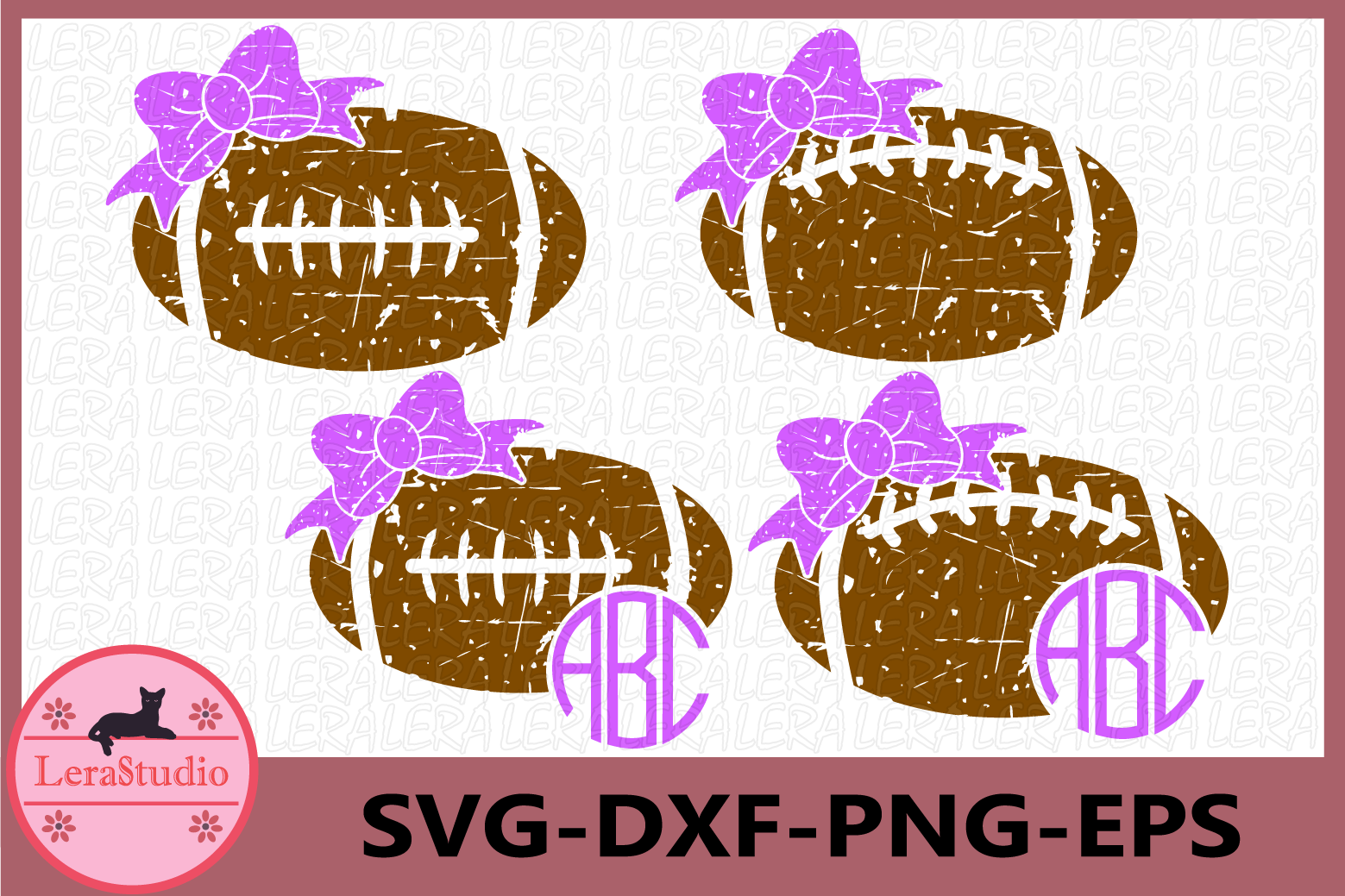 Football svg, Football Grunge SVG, Football Laces, Football example image 1