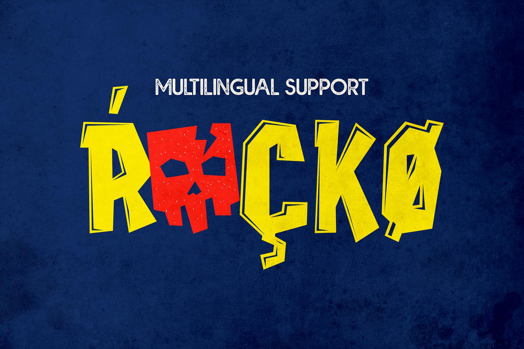 Rockidz // Layered Font Family example image 7
