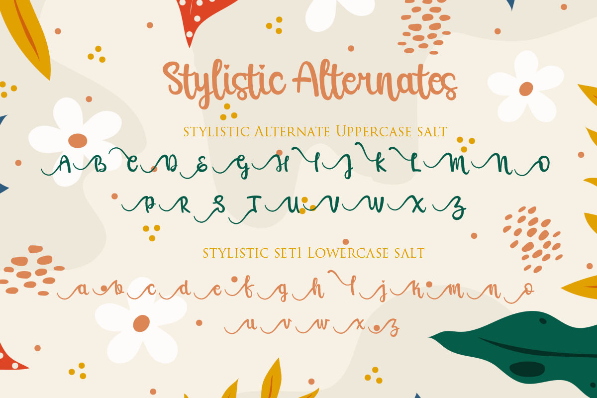 Raline | A New Calligraphy Modern Script example image 4