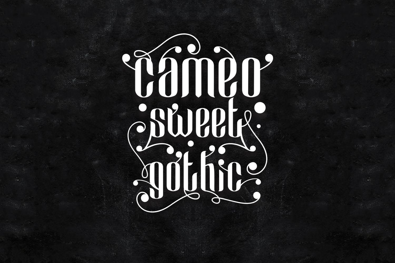 Cameo Sweet Gothic example image 2