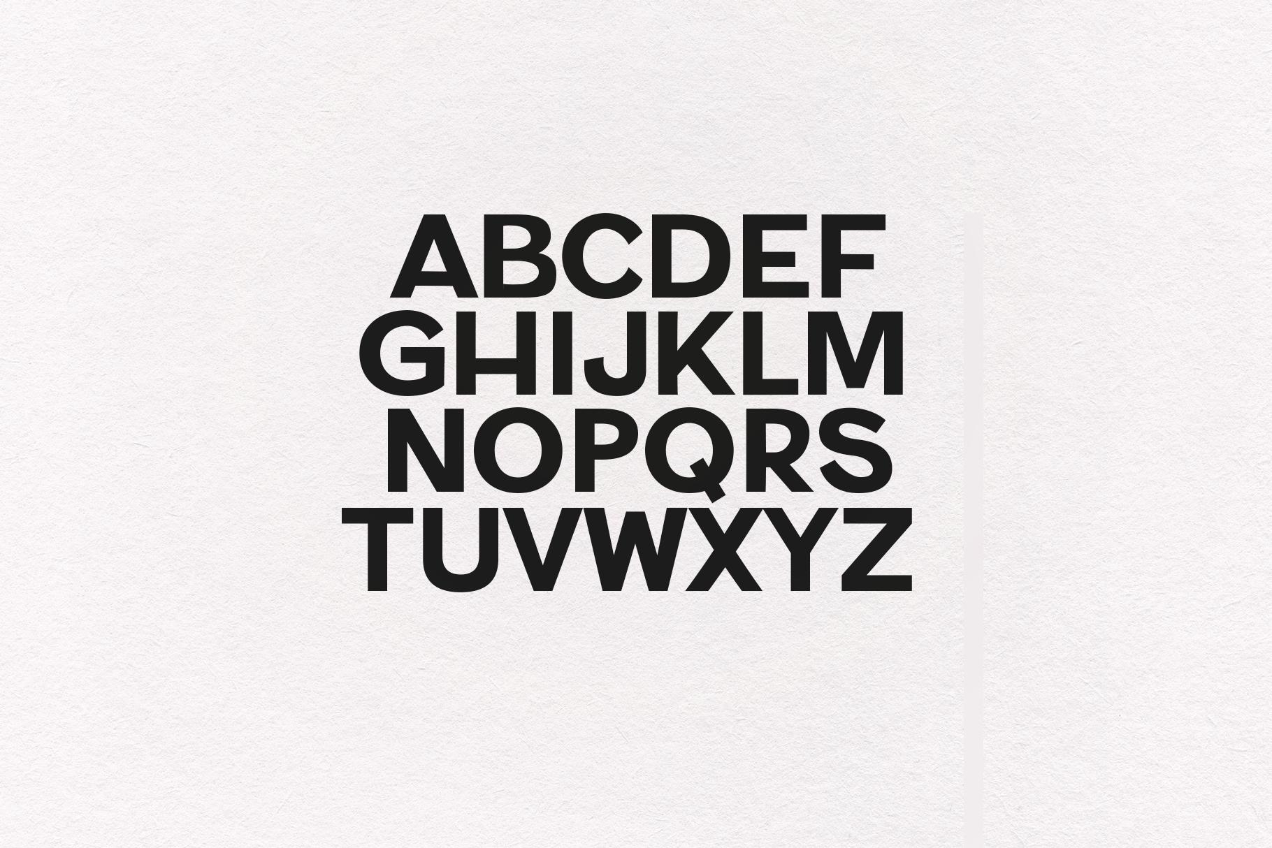 Harvie - A Bold Sans Font example image 9