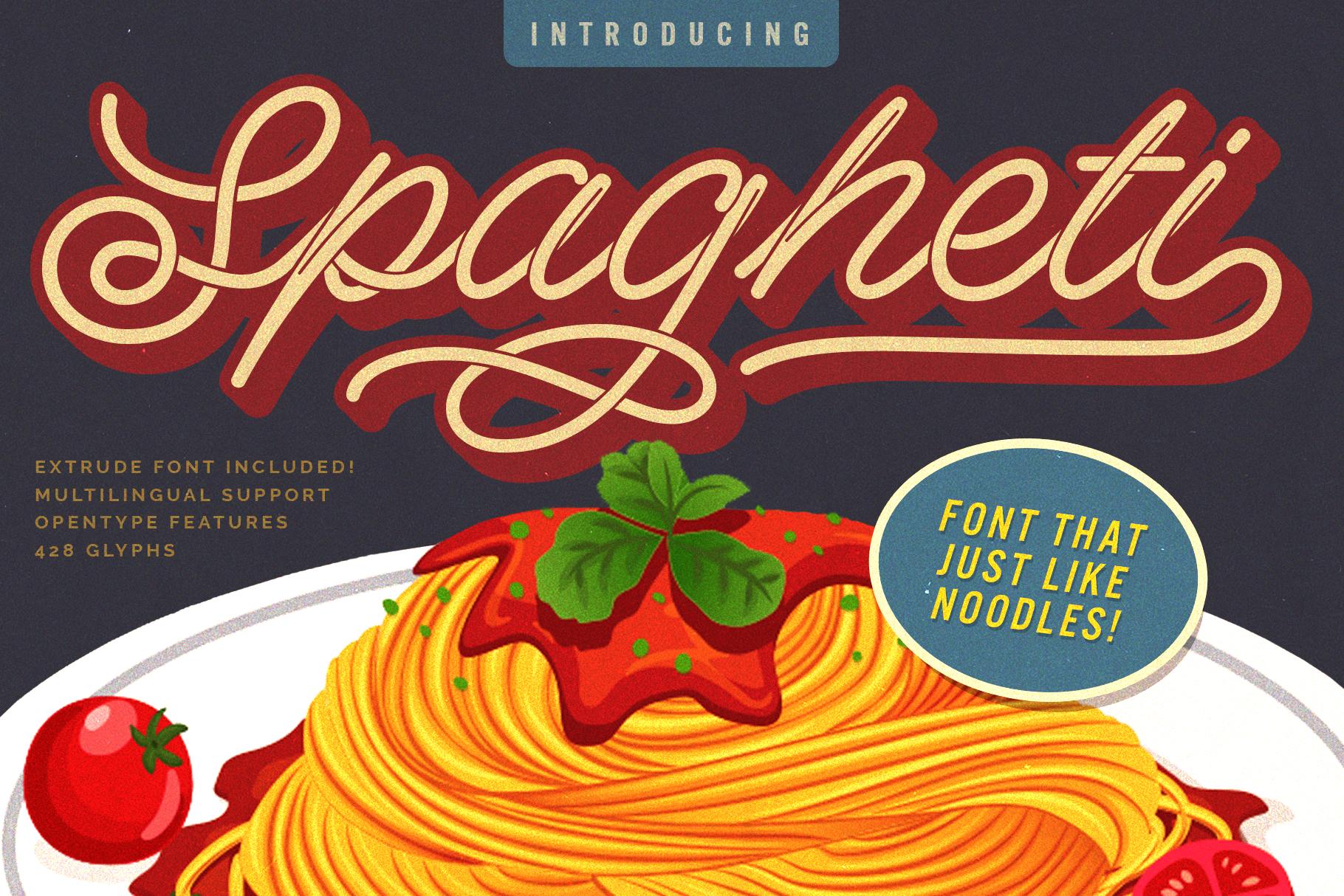 Spagheti Script Download Font Free Download Font Free
