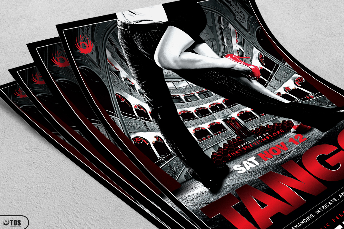 Tango Flyer Template V1 example image 3